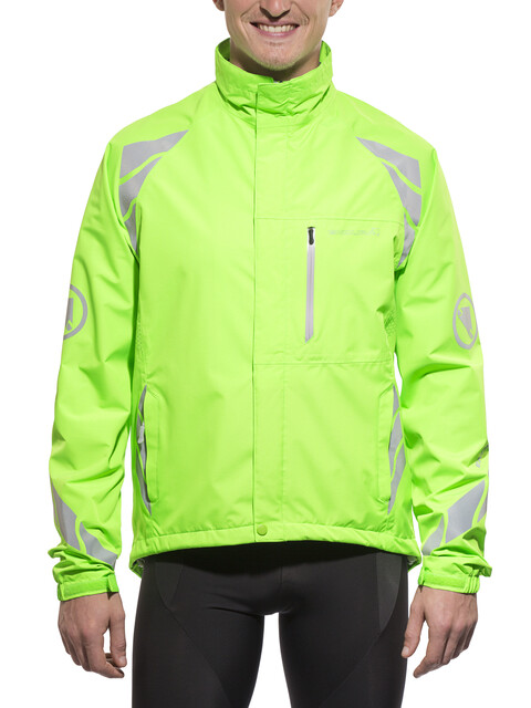 Endura Luminite DL Jacket Men hi-viz green/reflective